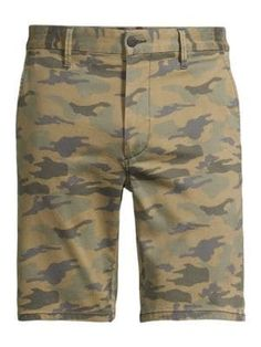 Joe's Jeans Camo Mid-rise Trouser Shorts In Green Camo Tailored Shorts, Joes Jeans, Mens Clothing Styles, Camouflage, Trousers, Mens Fashion, Popular, Green, Clothes