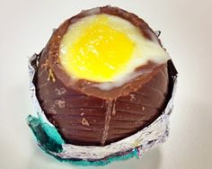 Chocolate cheesecake Easter eggs recipe