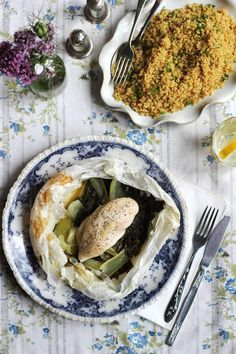 Nessa Robins' chicken in parchment with quinoa for soothing IBS. Irritable Bowel Syndrome, Robins, Ibs, Palak Paneer, Country Living, My Recipes, Quinoa, Chicken, Breakfast