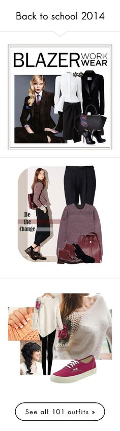 """Back to school 2014"" by yours-styling-best-friend ❤ liked on Polyvore"