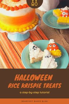 Make this Halloween memorable with these cute and easy Halloween Rice Krispie Treats! Take your rice krispie treats to the next level and create a new Halloween tradition at the same time. These Halloween treats make great Halloween party foods as well. Halloween desserts have never tasted so sweet! #thebearfootbaker #halloween #halloweentreatideas #ricekrispietreats Halloween Desserts, Halloween Food For Party, Easy Halloween, Halloween Treats, Rice Krispie Treats, Rice Krispies, Halloween Traditions, Sugar Cookies, How To Memorize Things