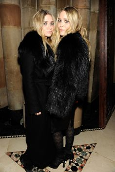 Mary-Kate and Ashley Olsen Style - Mary-Kate and Ashley Olsen Fashion - Harper's BAZAAR