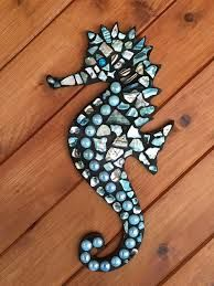 Image result for pinterest seahorses mosaiek