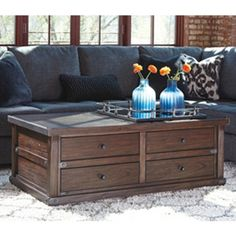 Accent Tables Gately LiftTop Coffee Table Ashley Furniture
