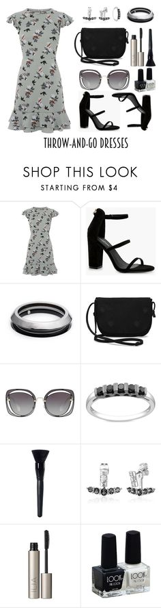 """Grey bouquet"" by romaosorno ❤ liked on Polyvore featuring Oasis, Boohoo, Alexis Bittar, TOMS, Miu Miu, Miadora, Charlotte Russe, House of Harlow 1960 and Ilia"