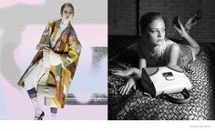 prada-spring-2015-ad-campaign-Joining Gemma are Julia Nobis and Ine Neefs. All three were photographed by Steven Meisel