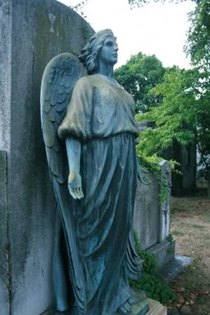 angel in Hollywood cemetery