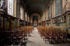 Abandoned school chapel in Belgium