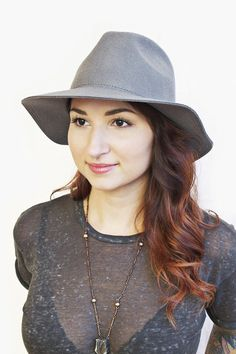 A staple in any woman's wardrobe. Morley hat, www.mooreaseal.com
