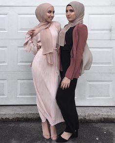 Beautiful Hijab Style For Special Occasions - Hijab Fashion Inspiration Islamic Fashion, Muslim Fashion, Modest Fashion, Fashion Outfits, Modest Wear, Modest Dresses, Modest Outfits, Modele Hijab, Outfit Look