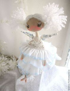 Buy Snow-white happiness. - White, angel, a gift for the new year, a gift for any occasion, Christmas decoration