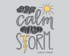 WEEK 17 PREORDER // Hand Drawn Typography Print by EmDashPaperCo