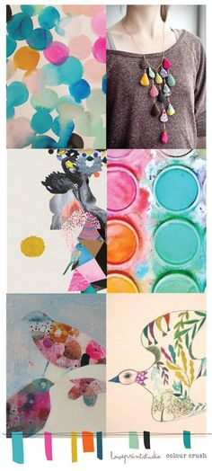 love print studio blog: Colour crush... Site full of amazing colour ways and boards