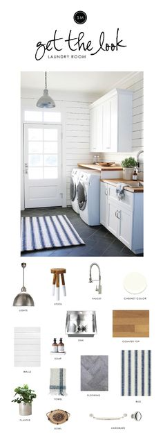 "Shop MURCHISON-HUME HAND DUO, EUGENE PENDANT, Stainless Steel Undermount Single Bowl, Dip-Dyed Stools, Butcher Block Maple Top By John Boos, Simply White OC-117 | Benjamin Moore, Mirabelle Kitchen Faucet, BLUE AWNING, COTTAGE HATCH HAND TOWEL, Massey 1-1/4in. Solid Round Knob, Large Massey Drawer Pull - 8"""", NESTING RATTAN TRAYS, CANYON CROCKS, Stone Products 