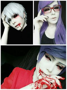 Kaneki, Rize, and Tsukiyama More