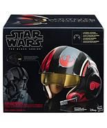 STAR WARS THE BLACK SERIES POE DAMERON ELECTRONIC X-WING PILOT HELMET - $99.00