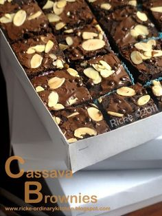 24 New Ideas cookies brownie recette Easy Cookie Recipes, Brownie Recipes, Chocolate Recipes, Cake Recipes, Dessert Recipes, Desserts, Brownie Cake, Fudge Brownies, Brownies Kukus