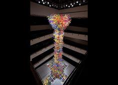 Chihuly/アメリカのガラス彫刻家デイル・チフーリさんの作品