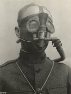ww1 gas masks - Google Search