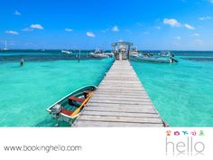 EL MEJOR ALL INCLUSIVE AL CARIBE. Aprovecha al máximo tu estancia en el Caribe mexicano y visita con tus amigos Puerto Morelos, un hermoso pueblo de pescadores donde disfrutarán de un ambiente relajante. Además, por la tranquilidad y claridad de sus aguas color turquesa, es perfecto para bucear y descubrir el mundo marino. En Booking Hello te aseguramos que viajar a este lugar, es perfecto para explorarlo con todos tus cómplices de aventuras. www.bookinghello.com