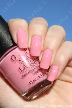 Originally from the Princess Charming Collection, Got a Date To-Knight is a sheer barbie pink polish that can be built up to a jelly-like q. Opi Nail Polish, Shellac Nails, Nude Nails, Love Makeup, Hair Makeup, Opi Pink, Make Me Up, How To Make, All The Colors