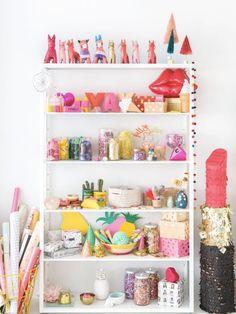 Craft Supply Storage + Organization Ideas | Apartment Therapy