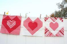 Love All Around quilt block