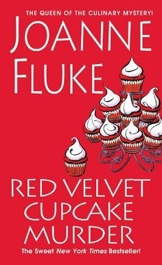 Red Velvet Cupcake Murder (A Hannah Swensen Mystery) by Joanne Fluke,  This is a easy, fluffy series of books just for a fun easy read. They are very corny and sometimes predictable but I enjoy reading these as a little vacation from reality and thinking.......they have some good recipes too!!