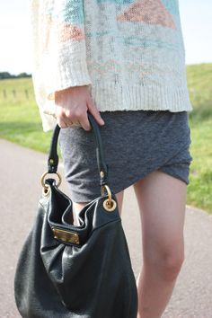 Creativity and Chocolate   outfit Spot on   details Marc by Marc Jacobs Hillier Q Hobo Bag and T by Alexander Wang Skirt