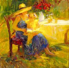 Diane Leonard - American Impressionist painter
