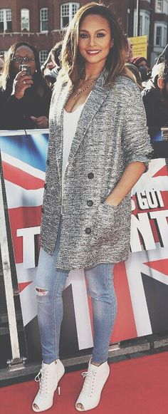 Alesha Dixon at BGT auditions