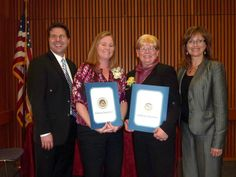 Congratulations to Megan Morgan, who received the Excellence in Teaching Award, and Debbie DeFreitas, who received the Excellence in Support Services Award, at the California Council for Adult Education Annual Awards Ceremony on Thursday, Feb. 21. You two are truly amazing!   Castro Valley, CA   www.cvadult.org