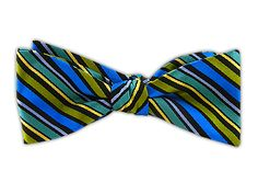 The Adler - Blues & Greens (JTF Bow Tie) | Ties, Bow Ties, and Pocket Squares | The Tie Bar
