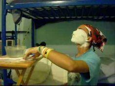 Hacer mascara o molde de yeso - Made Plaster Mask or mold