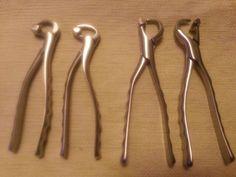 Dental physics forceps standard series ( set of 4)