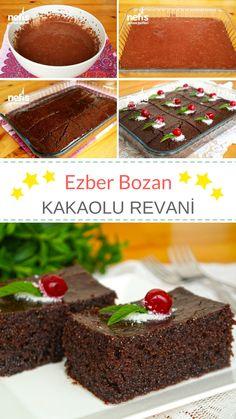 EZBER BOZAN Kakaolu Revani - Muhteşem bir tarif #revani #kakaolurevani #tatlıtarifleri #nefisyemektarifleri