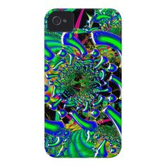 Ring Around The Nucleus 3D Fused Glass Art Case-Mate iPhone 4 Case