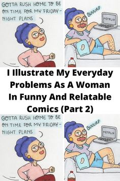 I Illustrate My #Everyday Problems As A #Woman In Funny And #Relatable Comics (Part 2) Funny Corny Jokes, Yoda Funny, Punny Puns, Funny Disney Jokes, Dark Humor Jokes, Cheesy Jokes, Hilarious Memes, Funniest Jokes, Funny Humor