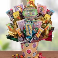 Easter Candy Bouquet (picture only)