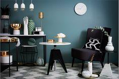 Väggfärgen är från Jotun! | So Lovely Salon Design, Interior, House, Walls, Colour, Lady, Home Decor, Color, Decoration Home