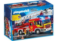 Playmobil Brandweer Ladderwagen met licht en sirene - 5362