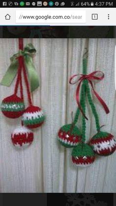 94 mejores imágenes de Navidad en crochet 8bf78fc706a