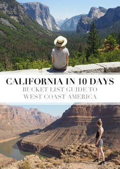 Ultimate Bucket List Guide to West Coast America Future Travel, Travel Around, 10 Days, West Coast, Grand Canyon, Travel Destinations, Bucket, June, California