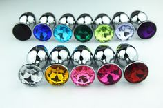 New style Metal sextoy Butt Plug Booty Beads insert male female anus adult Sex Toys Stainless Steel+Crystal Anal Jewelry Sex toy