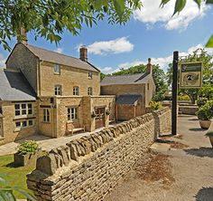 The Feathered Nest Country Inn in Oxfordshire, accredited by Sawday's Special Places to Stay. It's hard to beat this boutique inn. Expect tons of style and views across open country from the garden. Bedrooms are delightful. British Restaurants, Perfect English, Oxford England, Beer Garden, English Countryside, Great View, Britain, Places To Visit, Mansions
