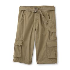 Canyon River Blues Boys Cargo Shorts Belted Ripstop sizes 8 10 12 14 16 20 NEW  14.99 http://www.ebay.com/itm/-/232142867421?
