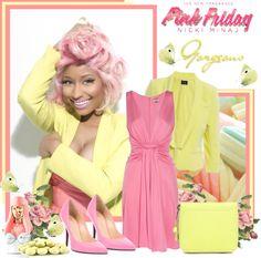 """""""Nicki Minaj"""" by sneky ❤ liked on Polyvore"""