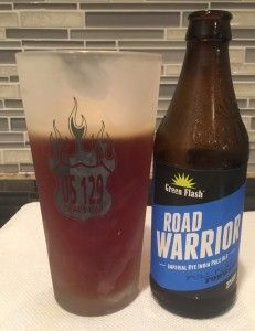 Road Warrior Imperial Rye IPA by Green Flash Brewing Company