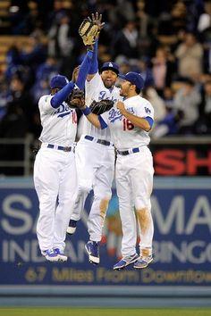 La Dodgers Celebrate Good Times!