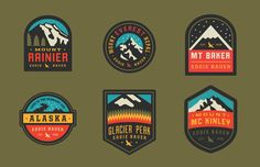 Eddie Bauer Patches by Curtis Jenkins.